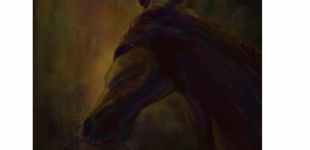 ghost horse.